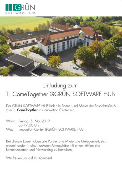 1. ComeTogether @GRÜN SOFTWARE HUB